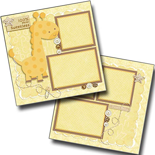 Pure Sweetness - Baby - Premade Scrapbook Pages - EZ Layout 4038 ()