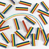 Fun Express Rainbow Design Crayons (50 Count)
