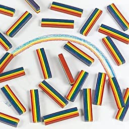 Oriental Trading Company 25 Rainbow Design Crayons