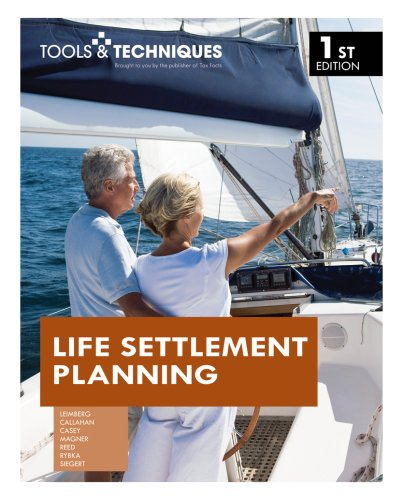 Tools   Techniques Of Life Settlement Planning