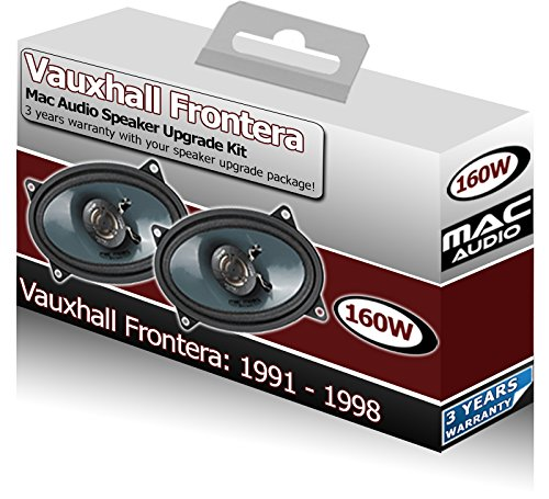 Vauxhall Frontera Parcel estante Altavoces Mac Audio 4 X 6