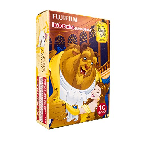 Fujifilm Instax Mini Instant Film (10 sheets, beauty and the beast)