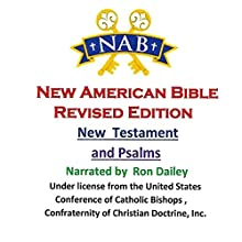 New Testament and Psalms Audiobook by New American Bible Revised Edition (Nabre) Narrated by Ron Dailey