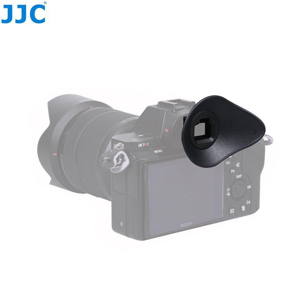 JW Eyecup Eye Cup Eyepiece Viewfinder for Sony A9 A7 A7S A7R A7II A7SII A7RII(A7 Mark II, A7S Mark II, A7R Mark II) A58 A99II Digital Camera Replaces Sony FDA-EP16 Eyecup