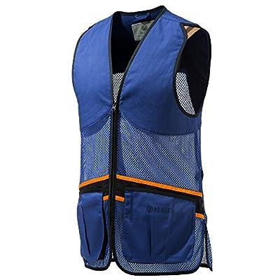 Beretta Full Mesh Shooters Vest, color Blue, Large