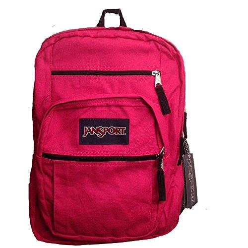 JanSport Big Student Backpack (Cyber Pink) (Teen Backpacks Jansport)