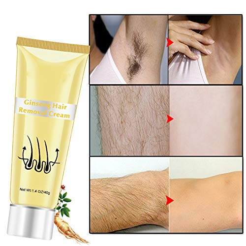 UniM Hair Removal Cream Painless Ginseng Underarm for Women and Men