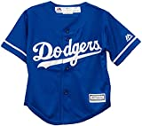 Majestic Kids/youth Royal Blue Los Angeles Dodgers Mlb Baseball Jersey