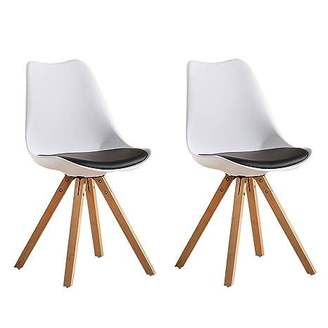 Amazon.com: YXYH - Juego de 2 sillas de comedor para cocina ...