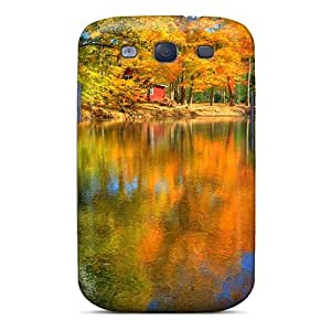 High Quality Shock Absorbing Case For Galaxy S3-autumn Free Autumn 73