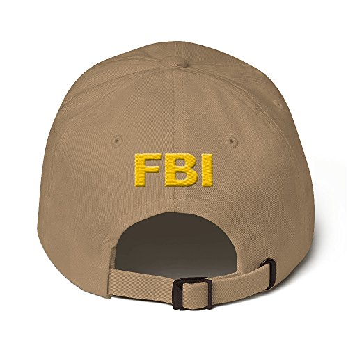 ff9bad0d68f Vinson MFG FBI Federal Agent Dad Cap