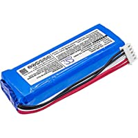 Replacement GSP1029102A Battery Compatible with JBL Charge 3 2016 Portable Bluetooth Speaker