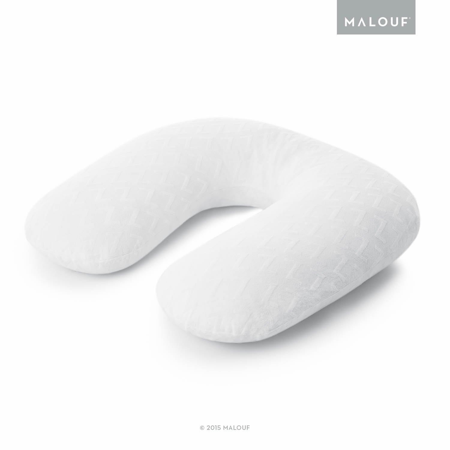 Z Pillow Soft Bamboo Replacement Cover - Fits Z U-Shape Body Pillow MALOUF ZZPUHFGMRC
