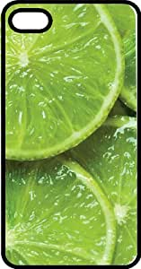 Fresh Green Lime Black Rubber Case for Apple iPhone 6 by mcsharks