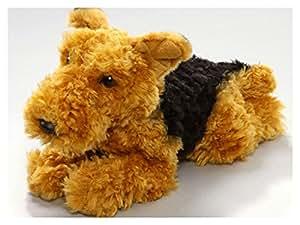 Peluche - Airedale Terrier Fox Terrier (felpa, 25cm) [Juguete]