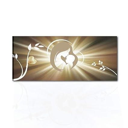 I Colori del Caribe Quadri Moderni Religiosi CAPEZZALI SACRI per Camera SA  Letto CAPEZZALE CAPOLETTO Olio su Tela Dipinti A Mano Madonna con Bambino  ...