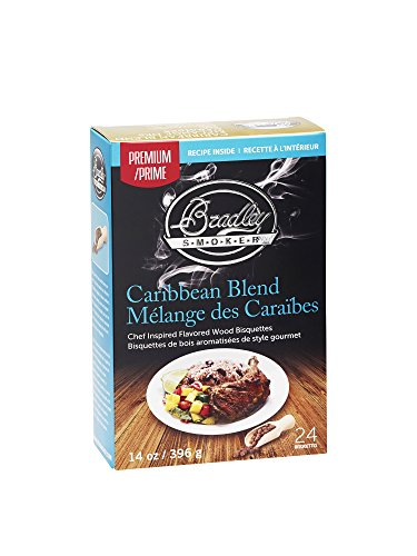 (Bradley Smoker Caribbean Blend Bisquettes (24 Pack) )