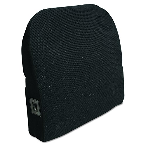 046854134935 - Comfort Products 60-2804MH05 Memory Foam Massage Lumbar Cushion, Black carousel main 0