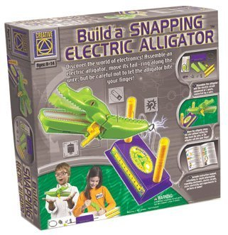 Build a Snapping Electric Alligator Electronics Kit Creative