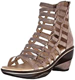 Jambu Women's Brookline Wedge Pump, Light Taupe Solid, 9.5 M US