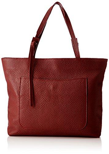 Chicca Borse 8894, Borsa a Spalla Donna, 45x35x10 cm (W x H x L) Rosso