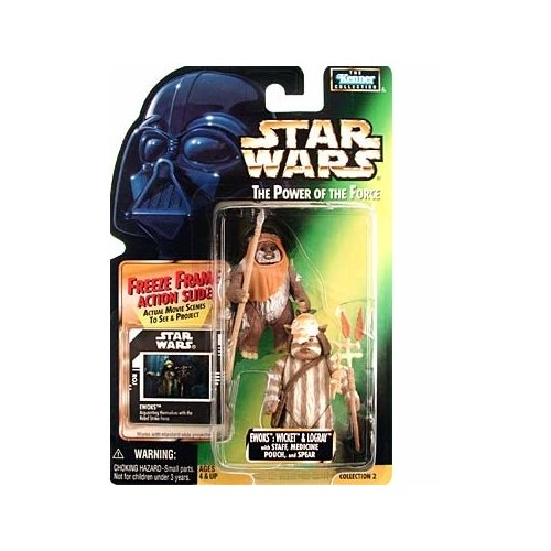 Ewok Toy (Star Wars: Power of the Force Freeze Frame > Ewoks: Wicket and Logray Action Figure)