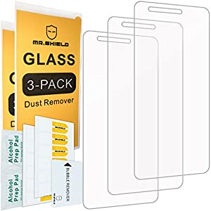 "[3-PACK]-Mr Shield For LG ""Rebel 2"" LTE 4G [Tempered Glass] Screen Protector with Lifetime Replacement Warranty from Mr Shield"