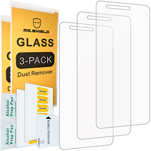 [3-PACK]-Mr Shield For LG 'Rebel 2' LTE 4G [Tempered Glass] Screen Protector with Lifetime Replacement Warranty