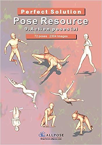 Allpose Book 9 Action Poses A For Comic Cartoon Manga