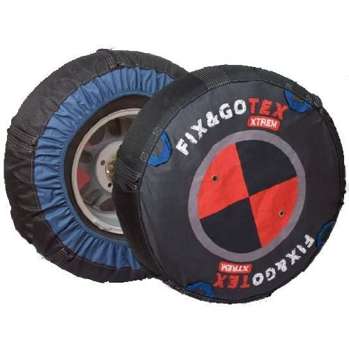Fix&Gotex - Xtrem - Chaines Neige Textile 4X4 - Suv - Fix&Gotex Xtrem - Réf : L1 205/15 205/80/15 215/75/15 235/70/15 255/65/15 275/60/15 205/75/16 235/65/16 275/55/16 225/60/17 245/55/17 225/55/18 245/50/18 27