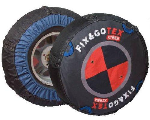 Fix&Gotex - Xtrem - Chaines Neige Textile 4X4 - Suv - Fix&Gotex Xtrem - Ré f : N1 235/75/15 255/70/15 225/75/16 235/70/16 255/65/16 235/65/17 255/60/17 275/55/17 235/60/18 255/55/18 225/55/19 255/50/19 275/45/19 275/40/20 295/35/20 305/35/20 255/40/