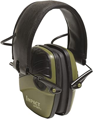 Honeywell Impact Sport Sound Amplification Electronic Shooting Earmuff