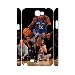 YUAHS(TM) Personalized 3D Hard Back Phone Case for Samsung Galaxy Note 2 N7100 with Kevin Durant YAS057183