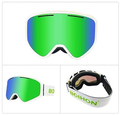 CCTYJ Gafas de esquí con máscara de Nieve Hombres Mujeres ...