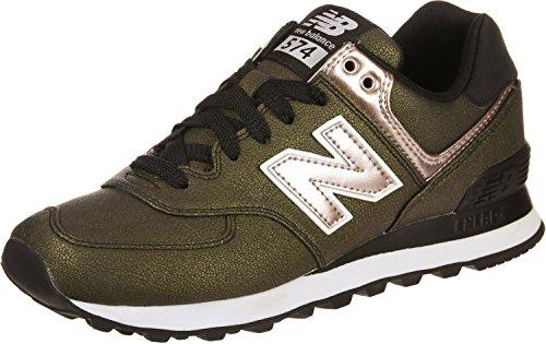 Nuova Bilancia Ladies 574 Sneaker Nera