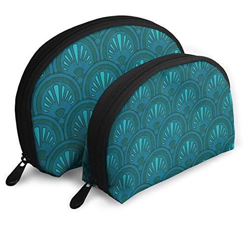 (Eqdrx Customized Nouveau Love Seashell Portable Zipper Bag (2 Packages), Suitable for Men, Children's Bags, Women, Cosmetics, Tools, Handbags/Handbags, Suitcases, Women's Accessories)