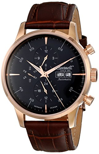 Ingersoll Men's IN2819RBK Columbia No. 1 Analog Display Automatic Self Wind Brown Watch