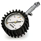 Automotive : TireTek Premium Tire Pressure Gauge With Integrated Hold Valve - 60PSI