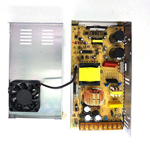Padarsey DC 24V 15A 360W Power Supply Universal Regulated Switching Transformer Adapter Driver 110V/220V AC Input for LED Strip CCTV Radio Computer Project by Padarsey (Image #4)
