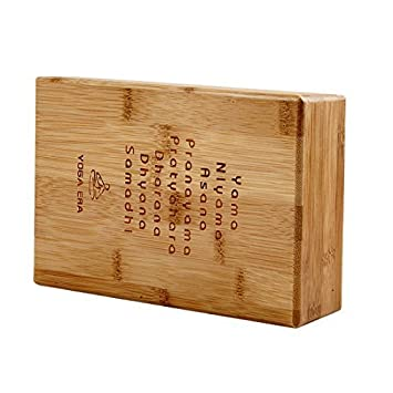Dealmux Bamboo Yoga Hollow Brick Stretch Aid Health Fitness Exercise
