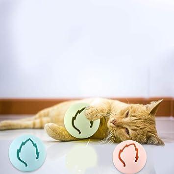 Juguete para gatos, divertido gato, fino, campana, bola ...