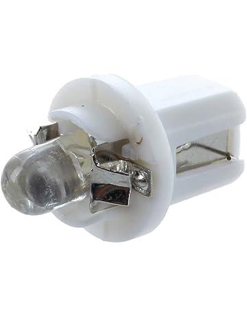 REFURBISHHOUSE 10 x T5 LED luz Bombilla luz Blanca de Calibre medidor salpicadero B8-5D