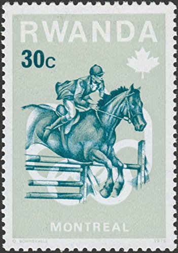 Montreal 1976 Olympic Games (1976 Rwanda Olympic Games Montreal Postage Stamp)