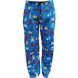 Men's MARVEL Avengers Superheroes Soft & Comfortable Fleece Pyjama Lounge Pants (Medium)