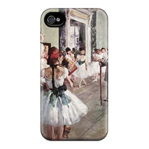Top Quality Protection Ballet Dancers Edgar Degas Case Cover For Iphone 4/4s