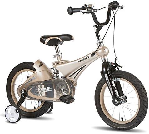 MAZHONG Bicicletas Bicicleta para niños Bicicleta para niños todo terreno Bicicleta vibrante para niños Estabilizador de bicicletas Ruedas y soportes en muchos tamaños (Color : Gray -12 inch) : Amazon.es: Deportes