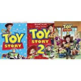 Toy Story 1,2, and 3 (1-3) Complete Series Combo Set [DVD]