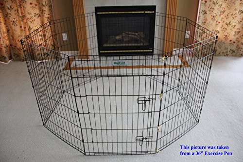 Precision Puppy Pen - EliteField 2-Door Soft Pet Playpen, Exercise Pen, Multiple Sizes and Colors Available for Dogs, Cats and Other Pets (62