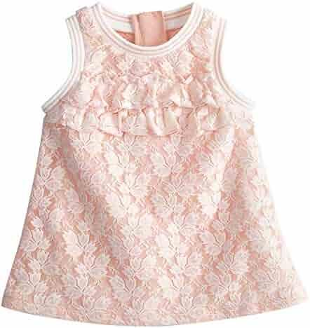 e435937e5323 mubenshang Toddler Dresses Baby Girls Infant Dresses Birthday Party Wedding  6 12 Months 2T