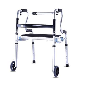 SXRL Andador De Aluminio Con Para Ancianos, Cómodo Asiento ...